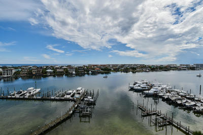 Destin Condo/Townhouse For Sale: 662 Harbor Boulevard #UNIT 650