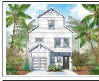 Inlet Beach Single Family Home For Sale: LOT 9 Beach View Drive