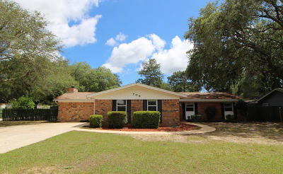 Fort Walton Beach Single Family Home For Sale: 708 Rodney Avenue