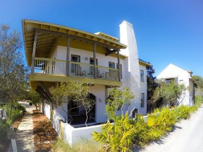 Rosemary Beach Single Family Home For Sale: 24 St. George's Lane