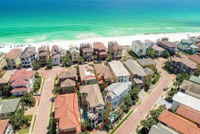 Destin Single Family Home For Sale: 4831 Ocean Boulevard
