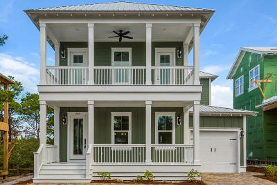 Santa Rosa Beach FL Single Family Home For Sale: $754,900