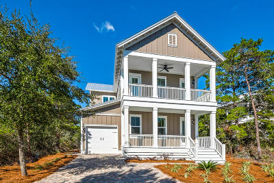 Santa Rosa Beach Single Family Home For Sale: 71 Gulfview Way