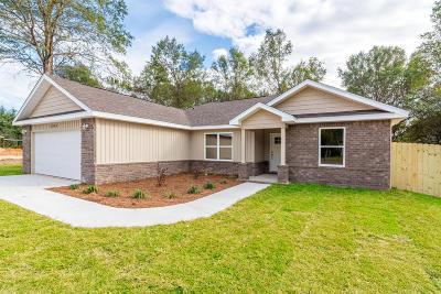 Crestview Single Family Home For Sale: Lot 20C McLain Drive