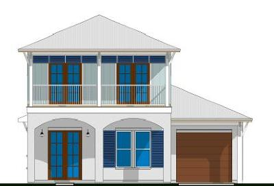 Inlet Beach Single Family Home For Sale: Lot 43 W Willow Mist Road