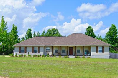 Laurel Hill Single Family Home For Sale: 7691 Steel Mill Creek Road