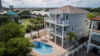 Miramar Beach Single Family Home For Sale: 12 Spyglass Drive