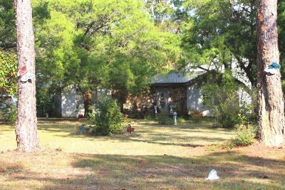 Defuniak Springs Single Family Home For Sale: 2537 S County Hwy 183