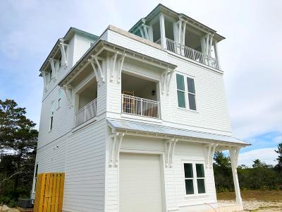 Inlet Beach Single Family Home For Sale: lot 7 Mala Beach