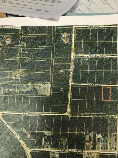 Defuniak Springs FL Residential Lots & Land For Sale: $4,500