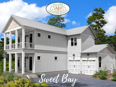 Santa Rosa Beach Single Family Home For Sale: Lot 6 Grayton Boulevard