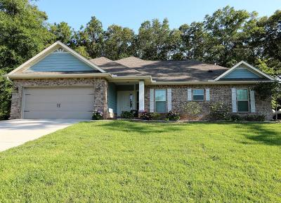 Crestview FL Single Family Home For Sale: $209,900