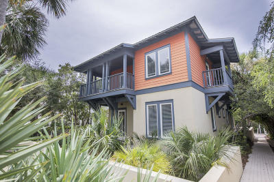 Inlet Beach Single Family Home For Sale: 91 Geoff Wilder Lane