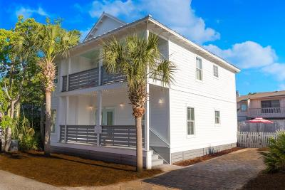 Miramar Beach Single Family Home For Sale: 22 W Bradley Street