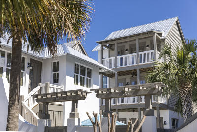 Inlet Beach Single Family Home For Sale: Lot 7 N Winston Lane