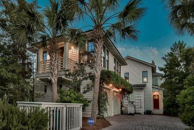 Watersound Single Family Home For Sale: 19 W Salt Box Lane