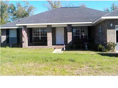 Crestview FL Single Family Home For Sale: $185,000