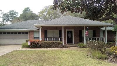 Niceville Single Family Home For Sale: 1670 Parkside Circle