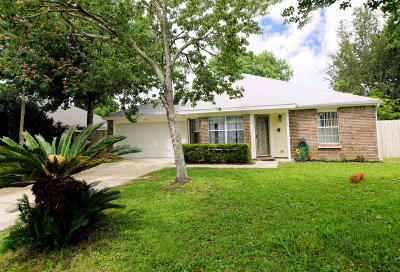 Fort Walton Beach FL Single Family Home For Sale: $194,500