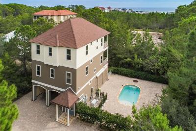 Santa Rosa Beach Single Family Home For Sale: 3 Grande Avenue