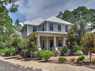 Santa Rosa Beach FL Single Family Home For Sale: $1,077,700