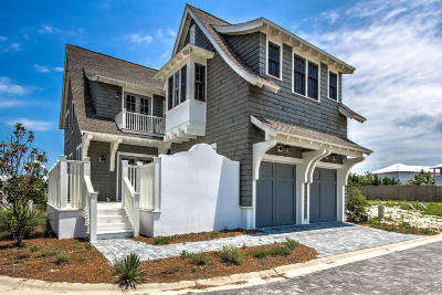 Inlet Beach Single Family Home For Sale: 87 Grace Point Way