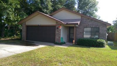 Niceville Single Family Home For Sale: 2902 Alpine Place