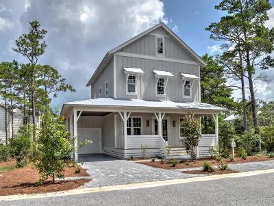 Santa Rosa Beach Single Family Home For Sale: 20 Ibis Dr. Drive