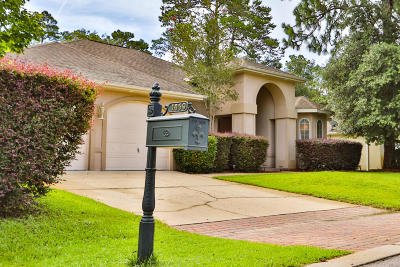 Niceville Single Family Home For Sale: 1059 Napa Way
