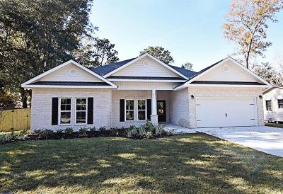 Niceville Single Family Home For Sale: 121 B 7th St. Street