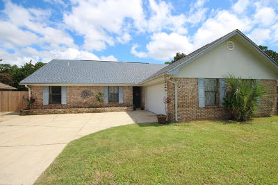 Fort Walton Beach Single Family Home For Sale: 842 Overbrook Drive