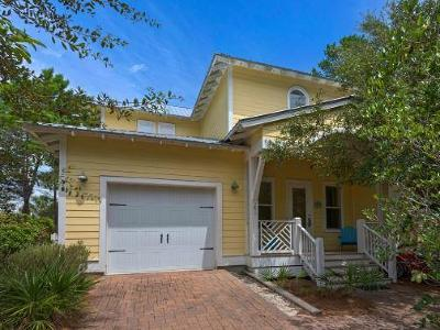 Santa Rosa Beach Single Family Home For Sale: 241 Lakewood Drive