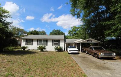 Fort Walton Beach FL Single Family Home For Sale: $150,000
