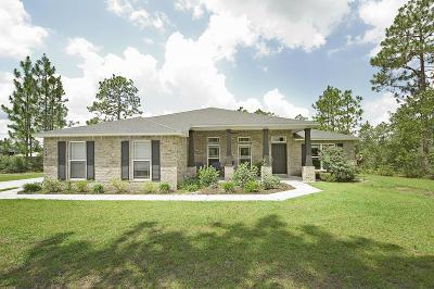 Laurel Hill Single Family Home For Sale: 6480 Welannee Boulevard
