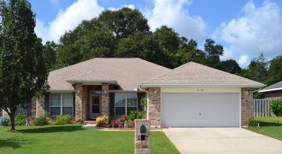 Crestview Single Family Home For Sale: 2124 Hagood Loop
