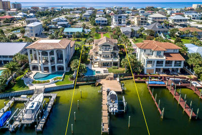 Holiday Isle Single Family Home For Sale: 617 Lagoon Drive