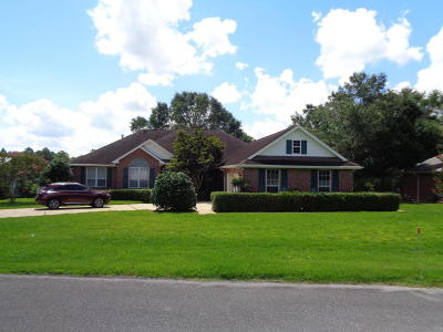 Defuniak Springs Single Family Home For Sale: 436 Hidden Lake Trail