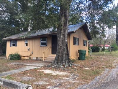 Defuniak Springs Single Family Home For Sale: 82 N 1st Street