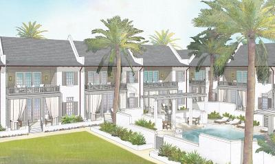 Inlet Beach FL Condo/Townhouse For Sale: $1,795,000