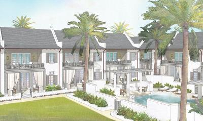 Inlet Beach FL Condo/Townhouse For Sale: $1,740,000