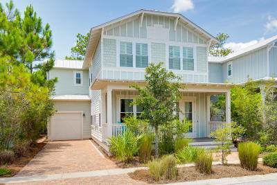 Santa Rosa Beach FL Single Family Home For Sale: $794,900