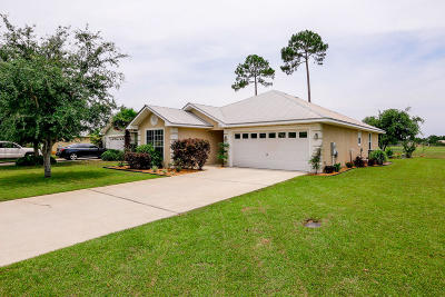 Santa Rosa Beach FL Single Family Home For Sale: $279,000