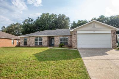 Crestview FL Single Family Home For Sale: $229,000