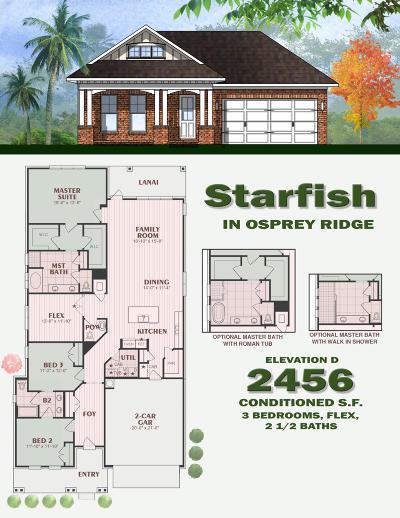 Niceville Single Family Home For Sale: 810 Raihope Way