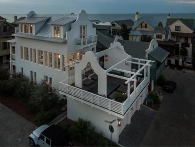 Rosemary Beach Single Family Home For Sale: 384 W Water Street