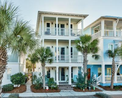 Inlet Beach Single Family Home For Sale: 3 W Trigger Trail