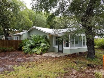Santa Rosa Beach Single Family Home For Sale: 12 W Grove Avenue
