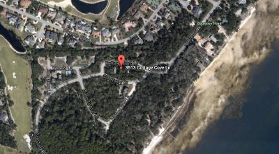 Panama City Residential Lots & Land For Sale: 3513 Cottage Cove Lane