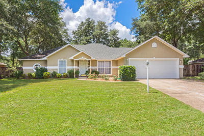 Crestview Single Family Home For Sale: 4586 Live Oak Church Road