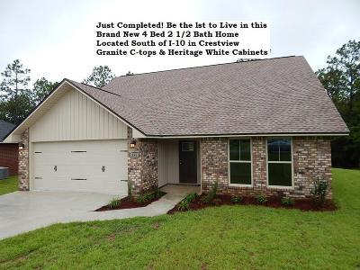 Crestview Single Family Home For Sale: 255 Cassady Ln Lane